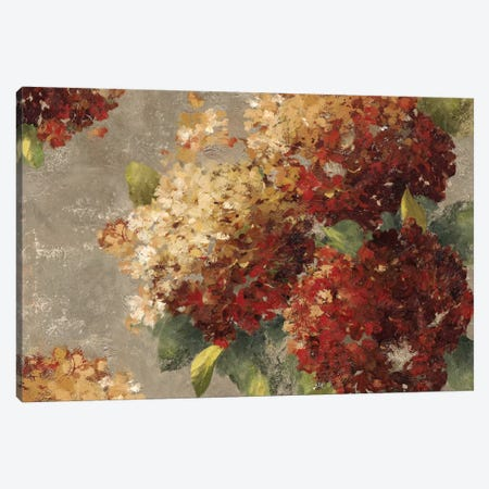 Vintage Hydrangea Canvas Print #PST820} by PI Studio Canvas Artwork