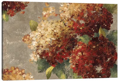 Vintage Hydrangea Canvas Art Print