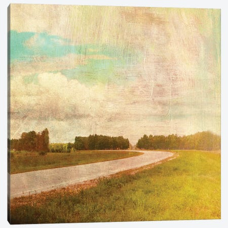 Vintage Road Canvas Print #PST822} by PI Studio Canvas Art