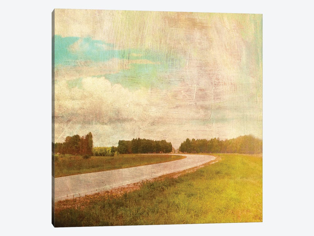 Vintage Road by PI Studio 1-piece Art Print