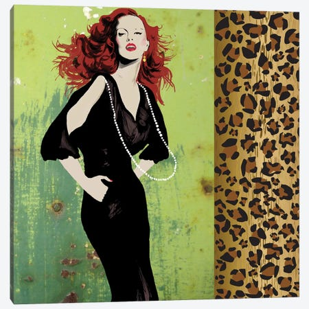 Vixen Canvas Print #PST825} by PI Studio Art Print