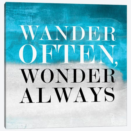 Wander Often, Wonder Always I Canvas Print #PST831} by PI Studio Canvas Print