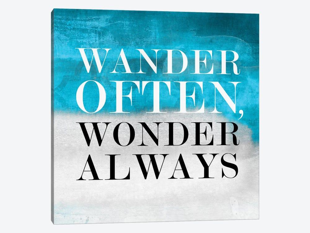 Wander Often, Wonder Always I by PI Studio 1-piece Canvas Art Print