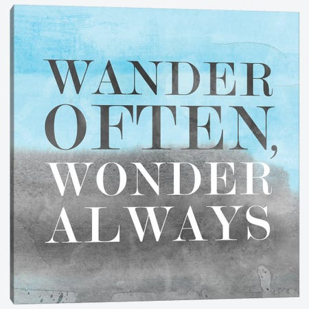 Wander Often, Wonder Always II Canvas Print #PST832} by PI Studio Canvas Art Print