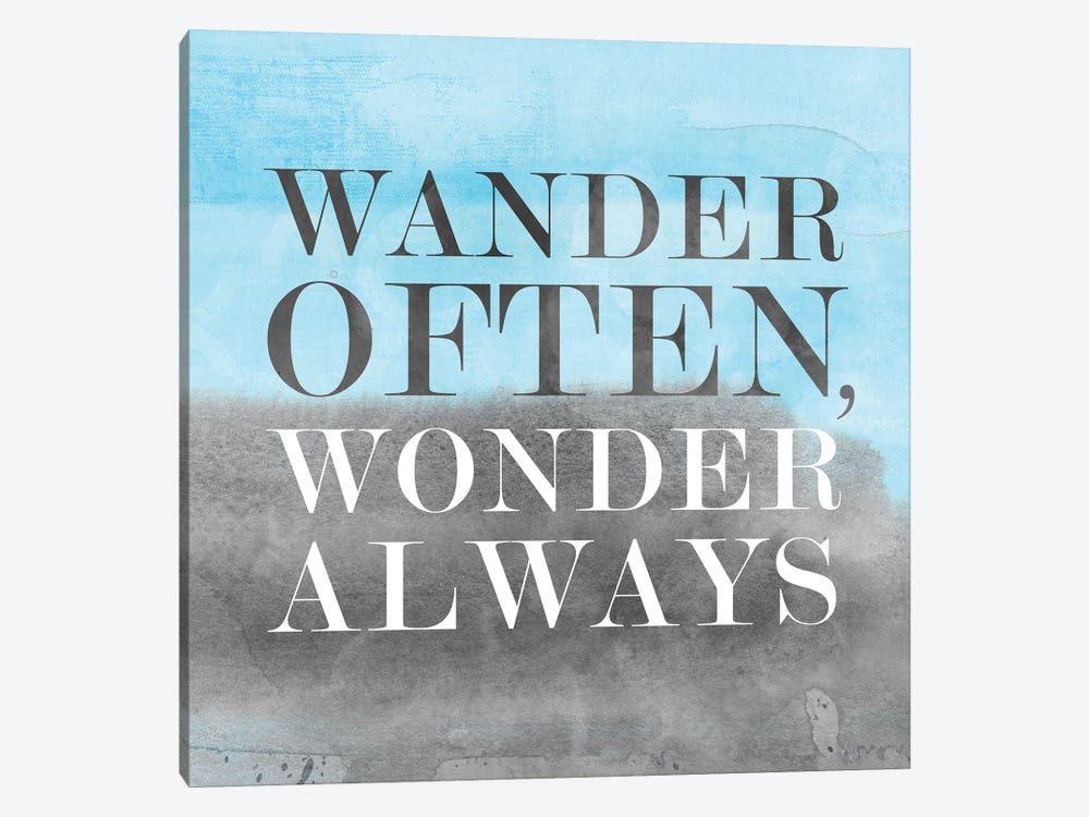 Wander Often, Wonder Always II by PI Studio 1-piece Canvas Art