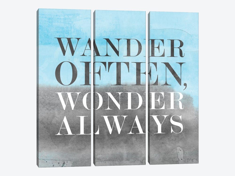 Wander Often, Wonder Always II by PI Studio 3-piece Canvas Artwork
