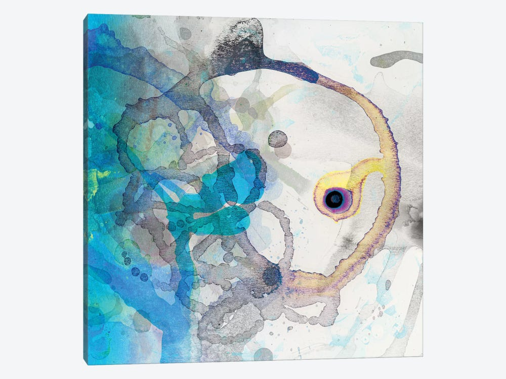 Watercolour Abstract II by PI Studio 1-piece Canvas Art