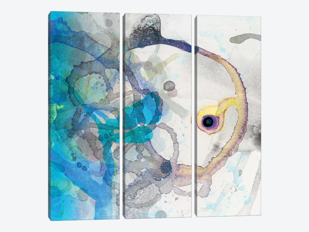 Watercolour Abstract II by PI Studio 3-piece Canvas Wall Art