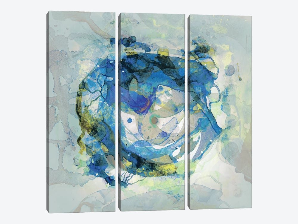 Watercolour Abstract III by PI Studio 3-piece Canvas Art Print