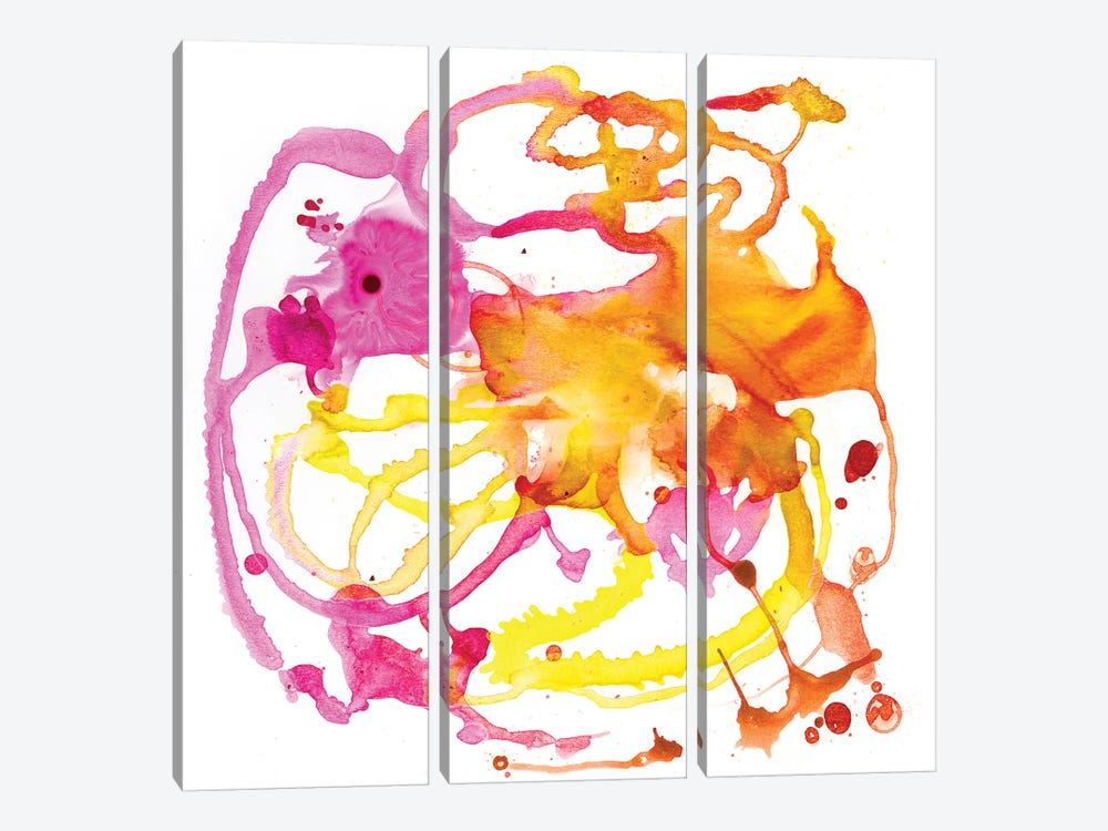 Watercolour Abstract IV by PI Studio 3-piece Canvas Wall Art