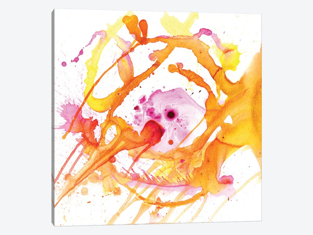 Watercolour Abstract V by PI Studio 1-piece Canvas Print