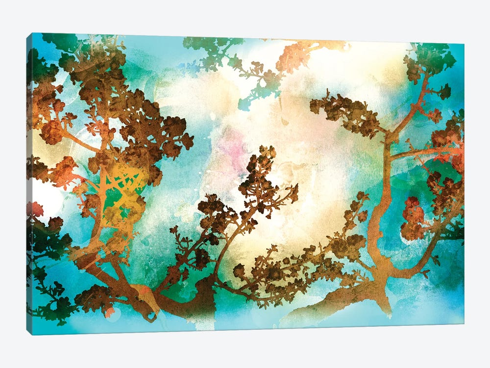 Watercolour Tree 1-piece Canvas Artwork