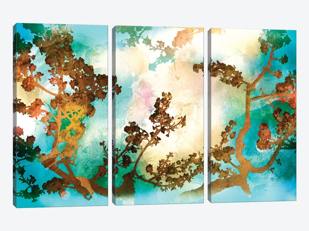 Watercolour Tree 3-piece Canvas Art