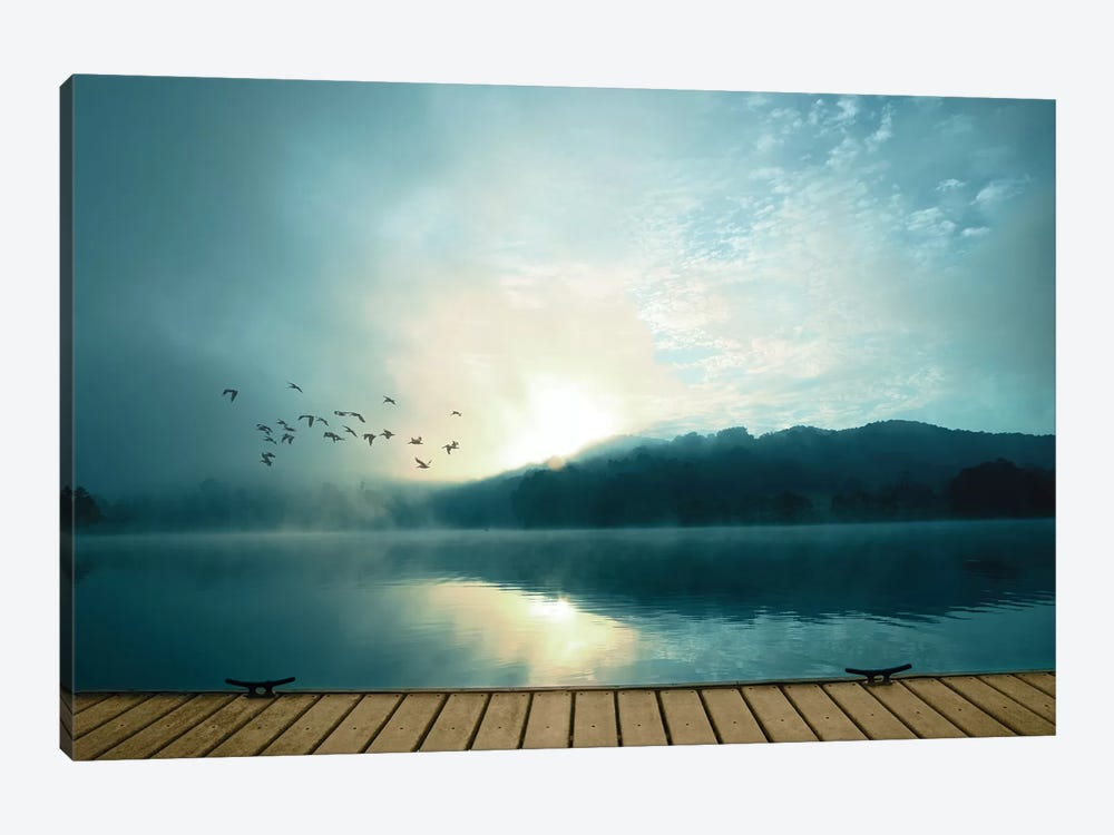 Waterside by PI Studio 1-piece Canvas Artwork