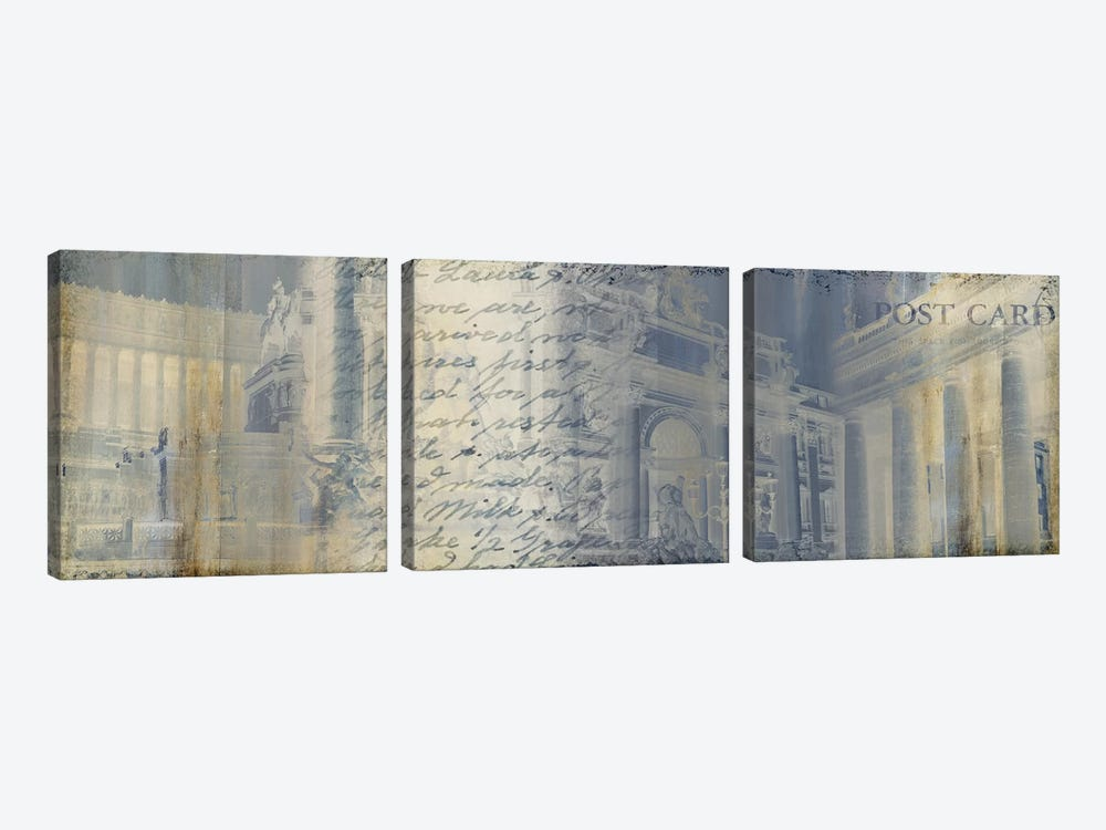 When In Rome by PI Studio 3-piece Canvas Wall Art
