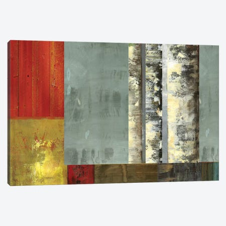 Birch Patchwork II Canvas Print #PST84} by PI Studio Art Print