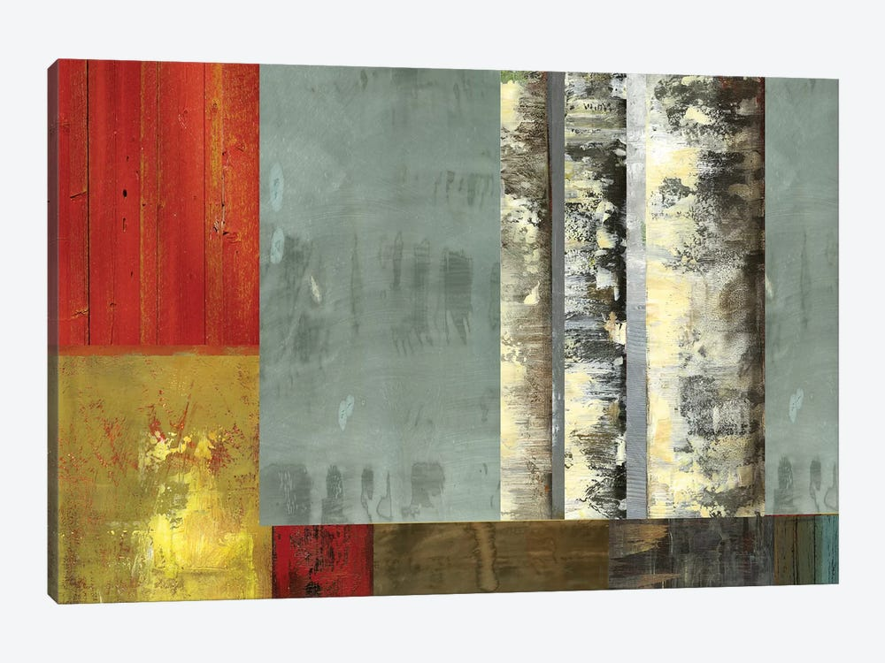 Birch Patchwork II by PI Studio 1-piece Canvas Artwork