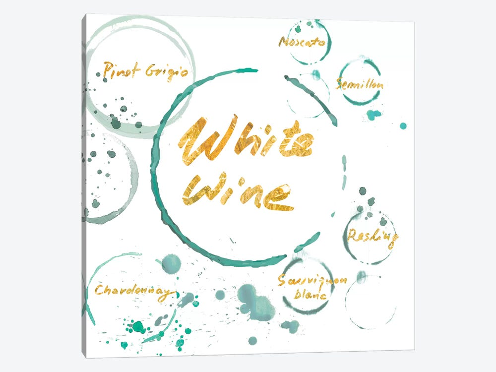 White Wine Gold by PI Studio 1-piece Canvas Art