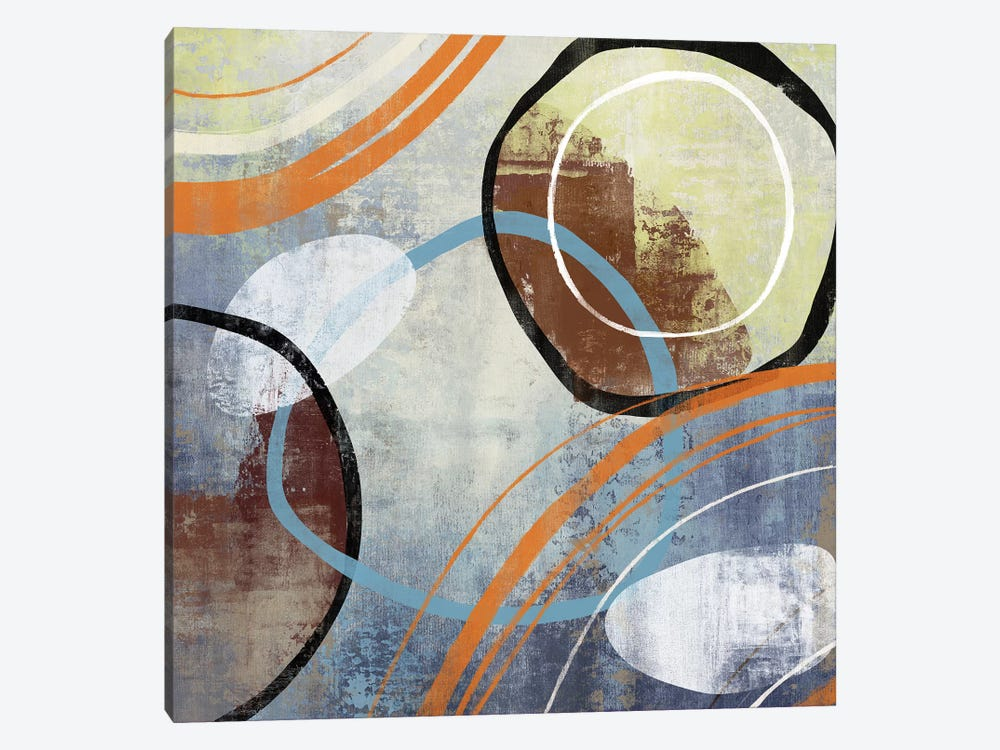 Winter Play 1-piece Canvas Art