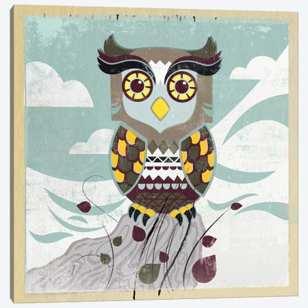 Wise Owl Canvas Print #PST865} by PI Studio Canvas Print