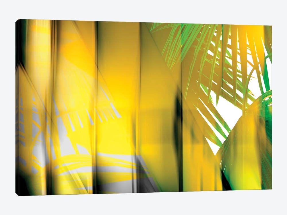Yellow Shades by PI Studio 1-piece Canvas Wall Art