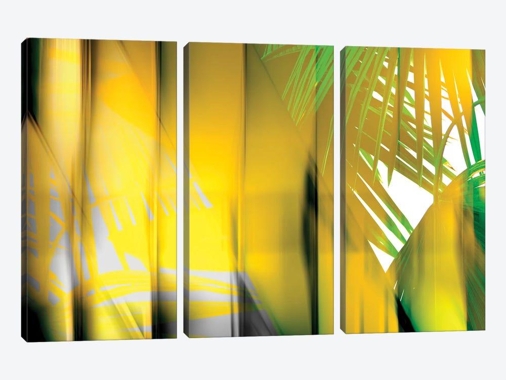 Yellow Shades by PI Studio 3-piece Canvas Artwork