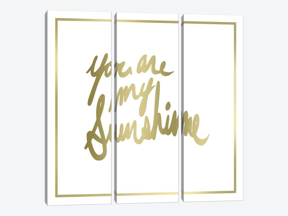 You Are My Sunshine by PI Studio 3-piece Canvas Art