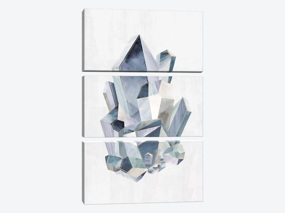 Crystal Pyramid by PI Studio 3-piece Canvas Art