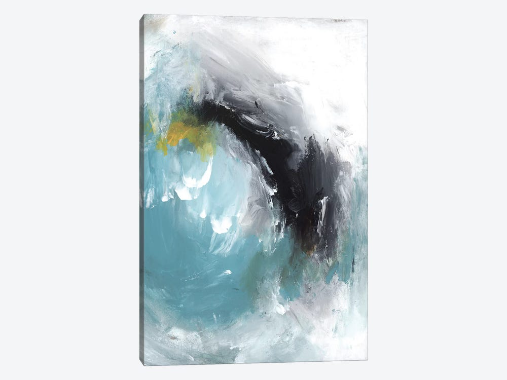 Aquamarine I by PI Studio 1-piece Canvas Art Print
