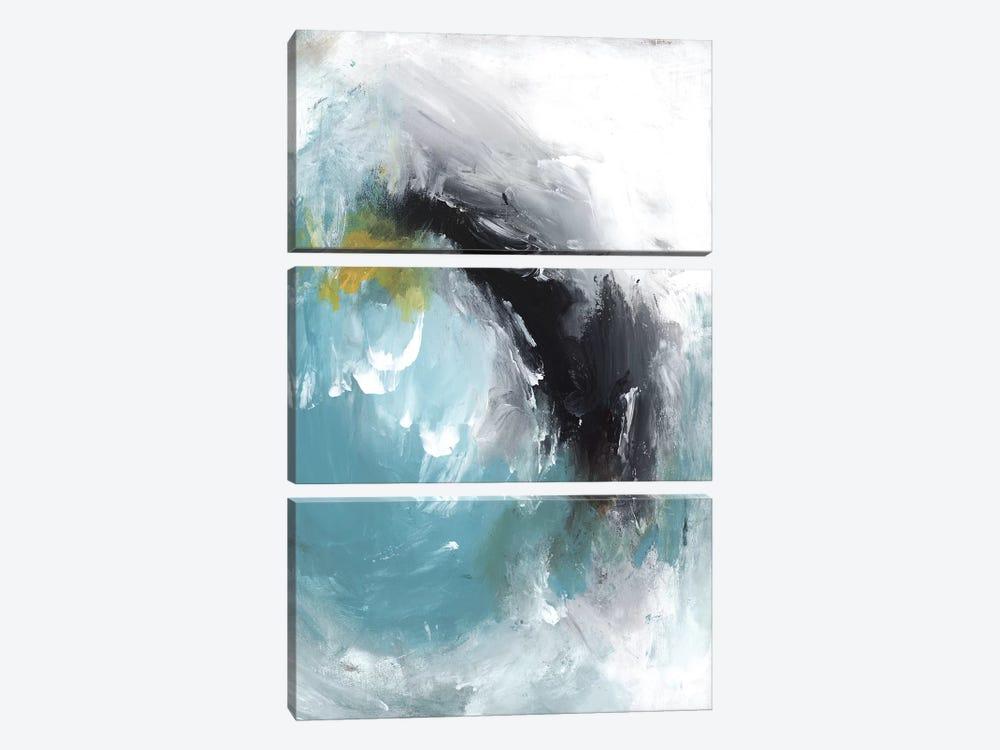 Aquamarine I by PI Studio 3-piece Canvas Print