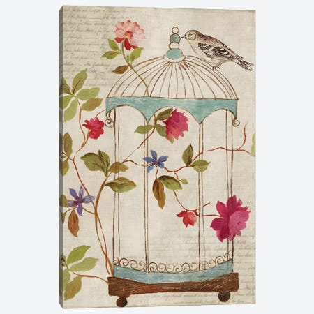 Bird's Escape Canvas Print #PST87} by PI Studio Canvas Art Print