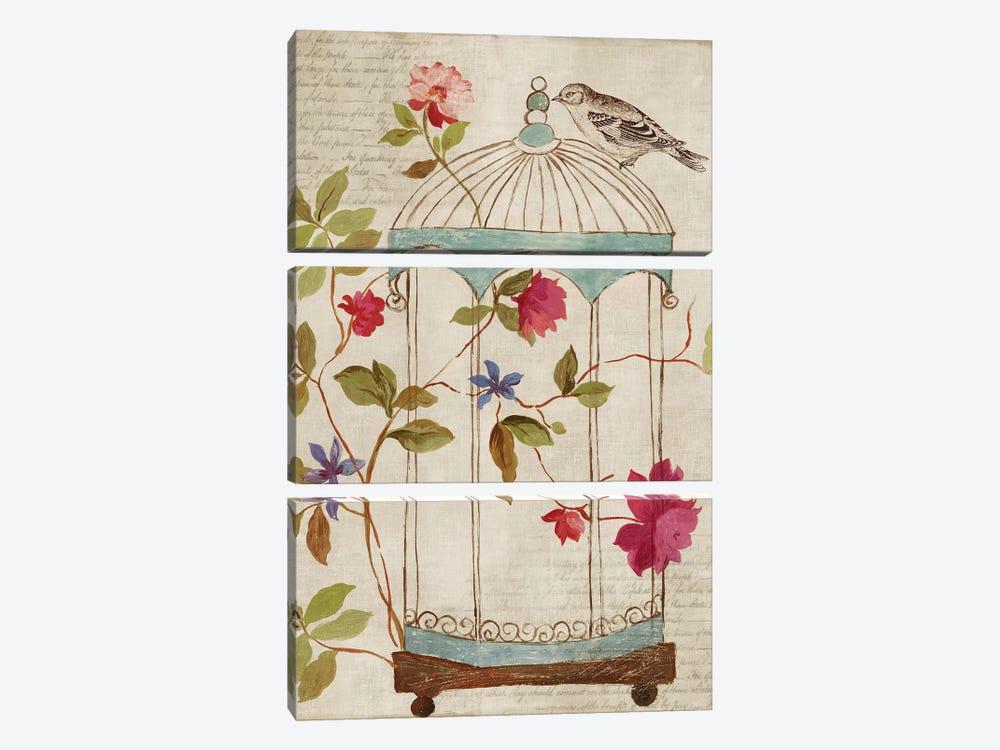 Bird's Escape by PI Studio 3-piece Canvas Art Print