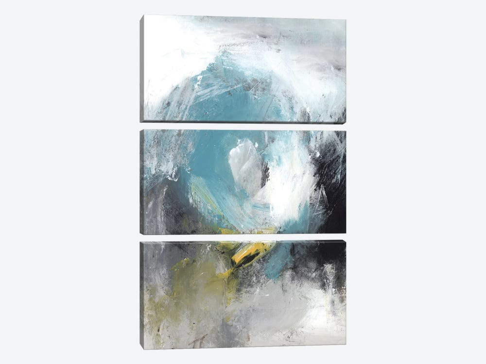 Aquamarine II by PI Studio 3-piece Canvas Art Print