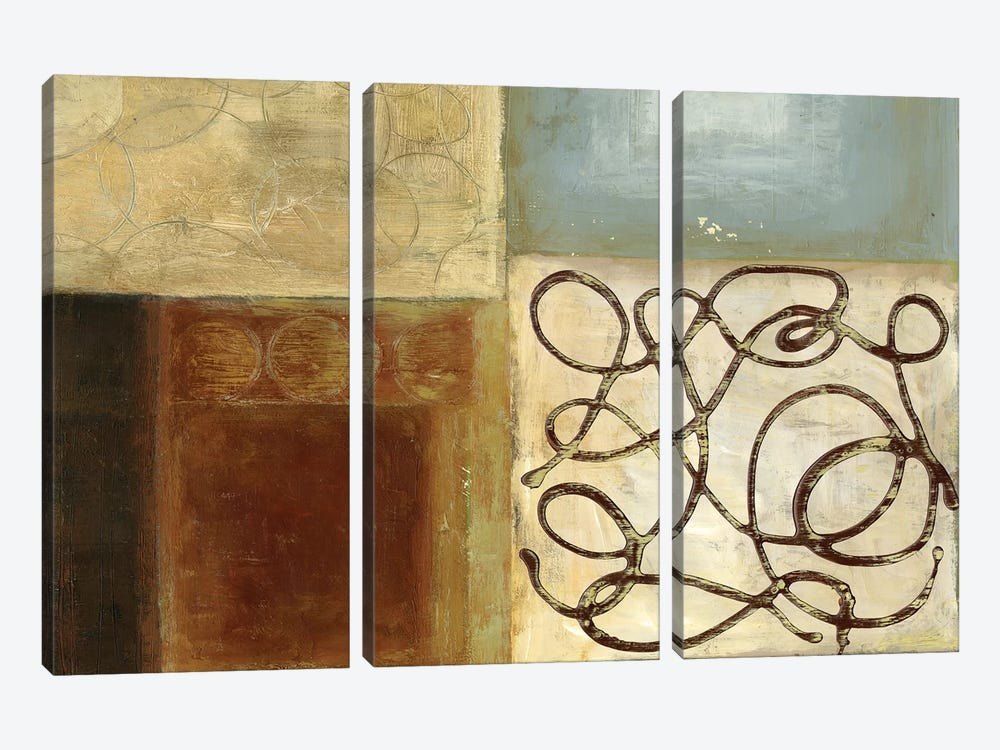 Bits And Pieces by PI Studio 3-piece Canvas Artwork