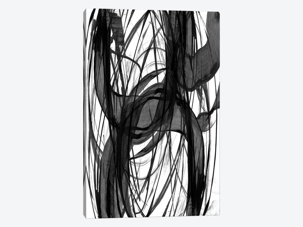 Dark Swirls by PI Studio 1-piece Canvas Print