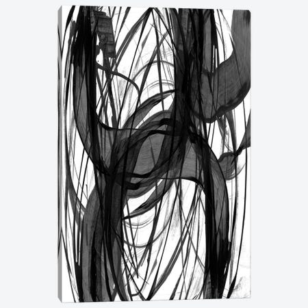 Dark Swirls Canvas Print #PST891} by PI Studio Art Print