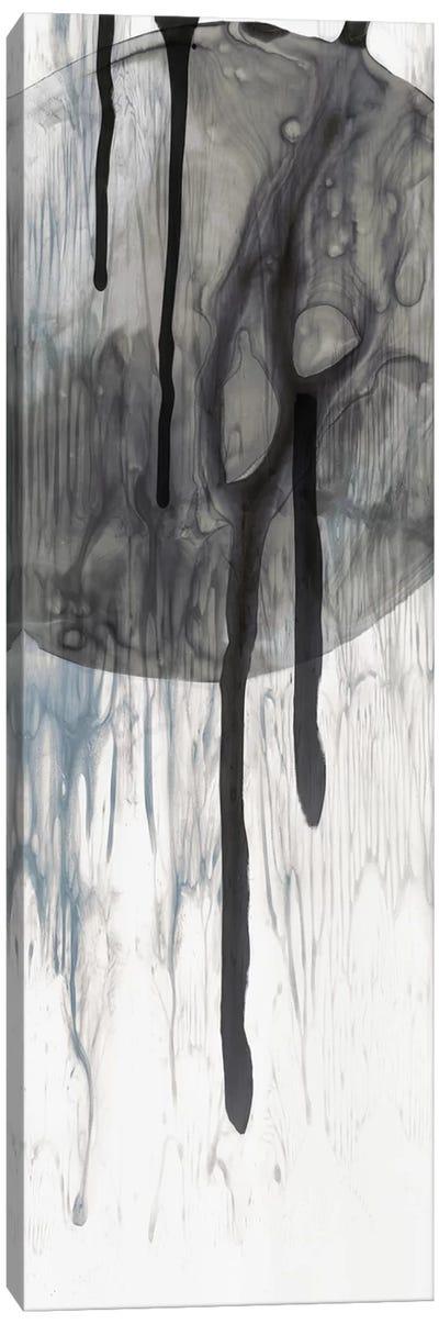 Dripping Circles Canvas Art Print