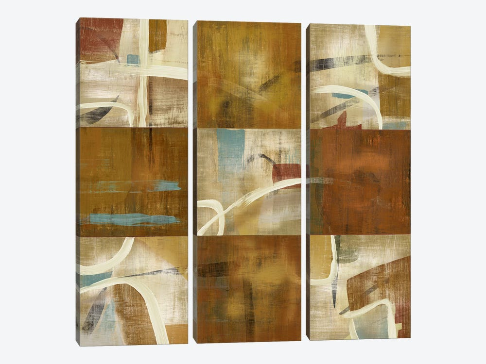 Abstraction by PI Studio 3-piece Canvas Artwork