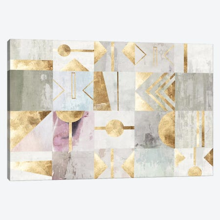 Gold Deco Canvas Print #PST901} by PI Studio Canvas Print