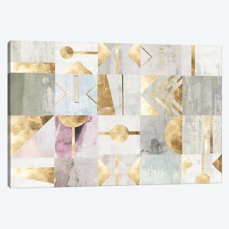 Gold Deco Canvas Print #PST901} by PI Studio Canvas Print