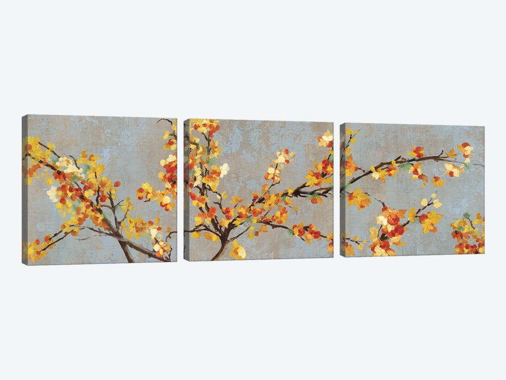 Bittersweet Branch II by PI Studio 3-piece Canvas Art Print