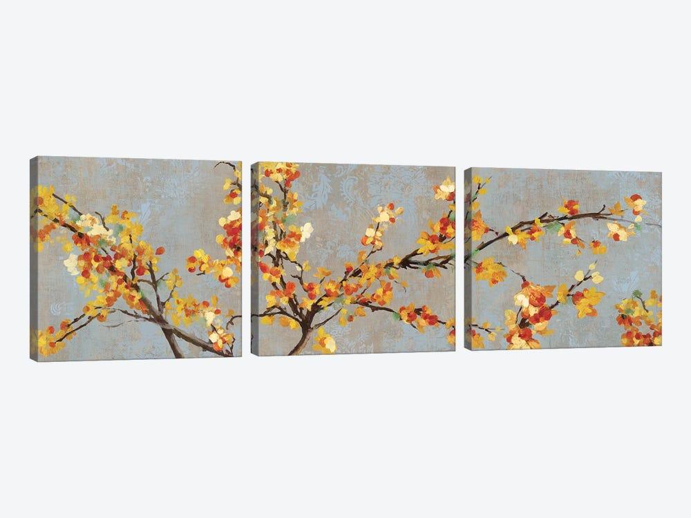 Bittersweet Branch II by PI Studio 3-piece Canvas Art Print