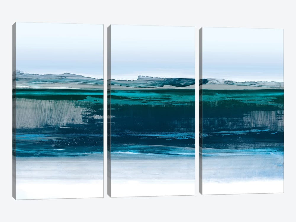 Smooth Blue by PI Studio 3-piece Canvas Art