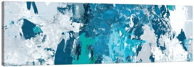 Tainted Blue Canvas Art Print