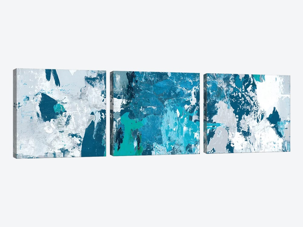 Tainted Blue by PI Studio 3-piece Canvas Print