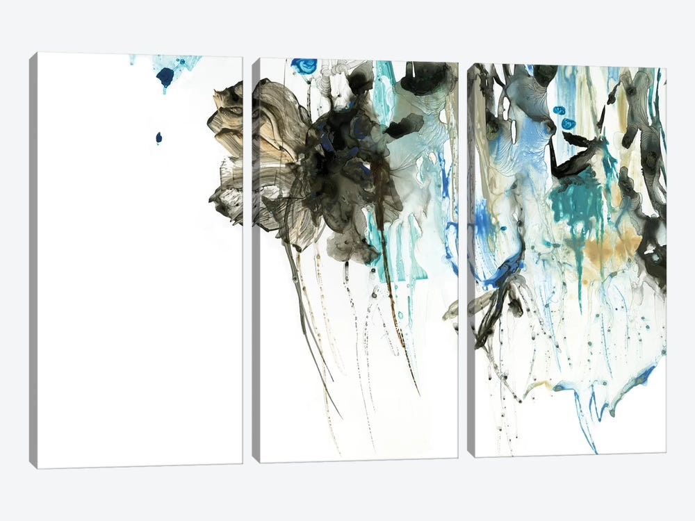 Water Splash I by PI Studio 3-piece Canvas Art