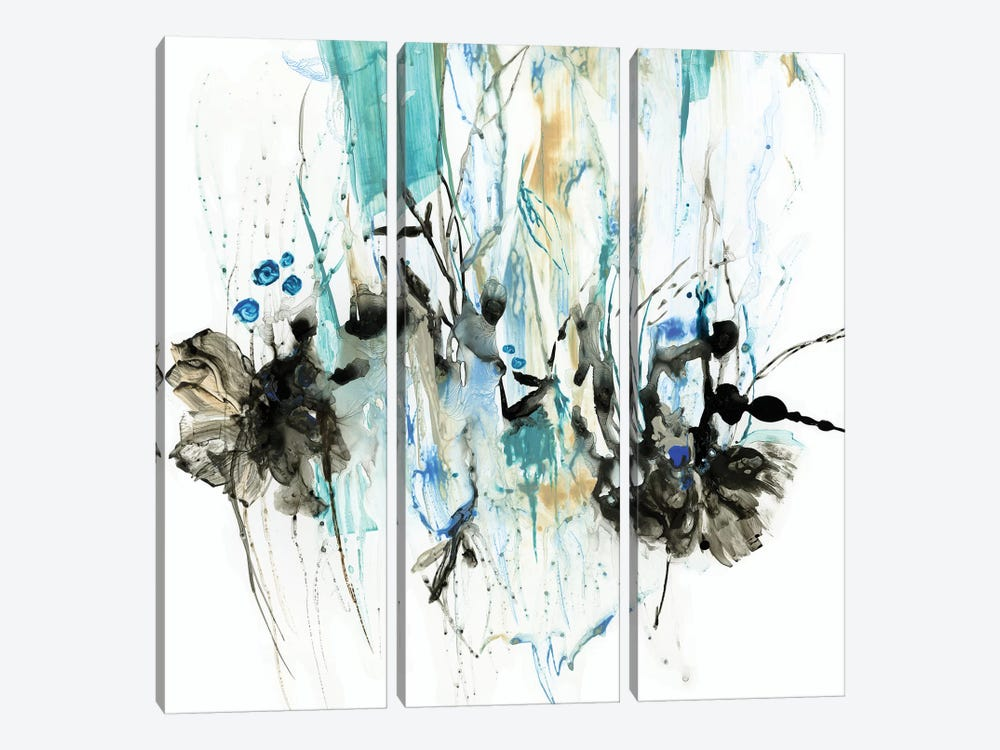 Water Splash II by PI Studio 3-piece Canvas Print