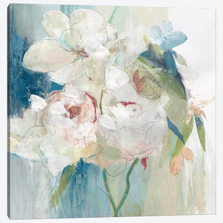 Blissful Peony I  Canvas Print #PST943} by PI Studio Canvas Print