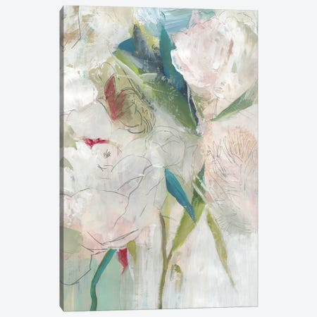 Blissful Peony II  Canvas Print #PST944} by PI Studio Canvas Artwork