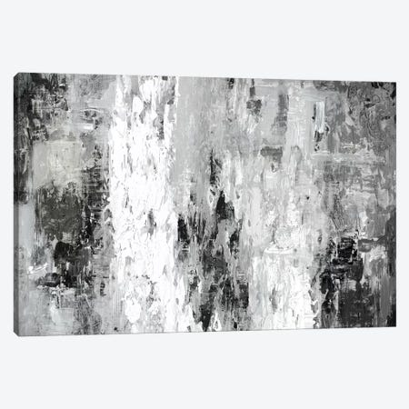 Black And White Abstract IV Canvas Print #PST94} by PI Studio Canvas Artwork